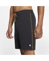 """Shorts da surf 18""""Hurley x Carhartt di Nike in Black da Uomo"""