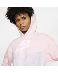 Robeà capuche Sportswear Heritage pour Nike en coloris Pink