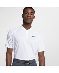 7bc4a78a Nike Dry Momentum Men's Standard Fit Golf Polo Shirt in White for ...