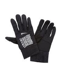 Gants de running Shield JDI Flash pour Nike pour homme en coloris Black