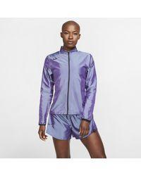 Veste de runningà zip pour Nike en coloris Multicolor