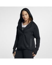 Nike Black Sportswear Tech Fleece (plus