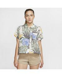 Nike Multicolor Hurley Getaway Printed Short-sleeve Top