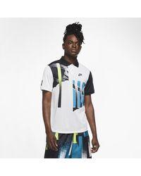 Nike White Court Advantage Tennis Polo for men