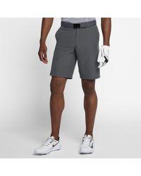 Nike Gray Flex Hybrid Men's Standard Fit Golf Shorts for men