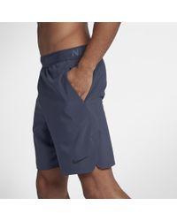 """Nike Blue Flex Men's 8"""" Training Shorts for men"""