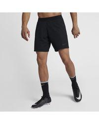 Nike Black Vaporknit Repel Strike Football Shorts for men