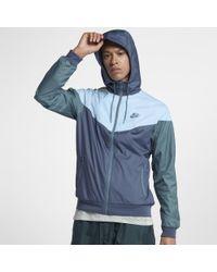 Nike Blue Sportswear Windrunner Men's Jacket for men