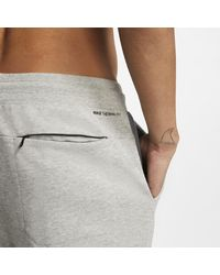 Nike Gray Hurley Therma Protect Fleece Joggers for men
