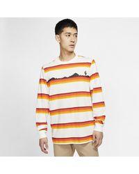 Nike Multicolor Sb Long-sleeve Printed Skate T-shirt for men
