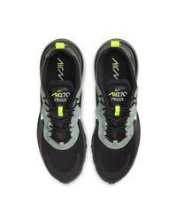 Nike Air Max 270 React schuh in Black für Herren