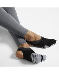 Nike Black Grip Studio Trainings-Füßling für