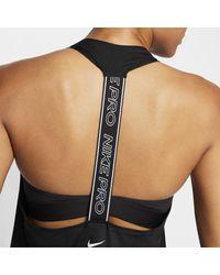 Nike Black Pro Dri-fit Graphic Tank