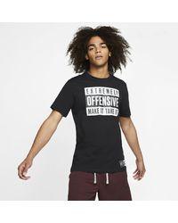 Nike Black Basketball T-shirt for men