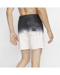 Boardshort Hurley Fifty Fifty 41 cm pour homme Nike pour homme en coloris Black