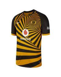 Maillot de football Kaizer Chiefs F.C. 2019/20 Stadium Home pour Nike pour homme en coloris Orange