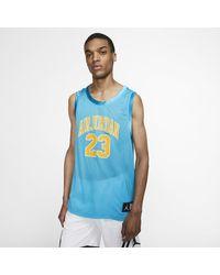 Nike Jordan DNA Distorted -Basketballtrikot in Blue für Herren