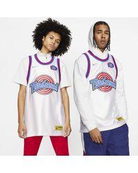 Maglia LeBron x Tune Squad DNA di Nike in White da Uomo