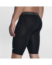 Shorts da training Pro di Nike in Black da Uomo