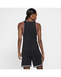 Nike Black Dri-FITärmelloses Basketballoberteil für