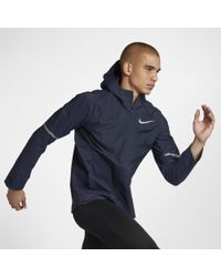 Nike Blue Zonal Aeroshield Men's Running Jacket for men