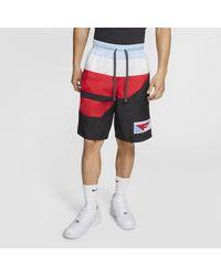 Nike Black Flight Basketball Shorts for men