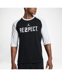 85401e4e8872e8 Lyst - Nike Re2pect Men s 3 4 Sleeve T-shirt