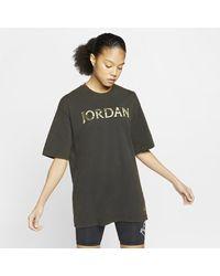 Nike Black Jordan Utility Oversized T-shirt