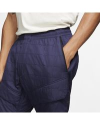 Nike Blue Sportswear Tech Pack Webhosen