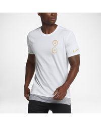 Nike - White Dry Kobe Men's Basketball T-shirt for Men - Lyst