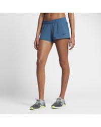 Nike Blue Women's Reversible Training Shorts