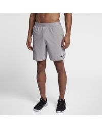 Shorts da training 20,5 cm Flex di Nike in Gray da Uomo