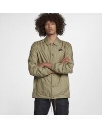 Nike Green Sb Shield Coaches Men's Jacket for men