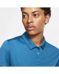 Nike Blue Dri-FIT Golf-Poloshirt für
