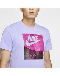 T-shirt Air di Nike in Purple da Uomo
