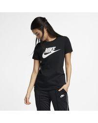 Nike Black Sportswear Essential Damen-T-Shirt