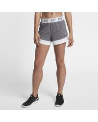 "Nike Gray Dri-fit Women's 4"" Training Shorts"