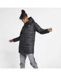 Parka double-face Sportswear Synthetic-Fill di Nike in Black