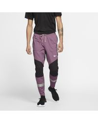 Nike Purple Run Ready Phenom Utility Trousers for men