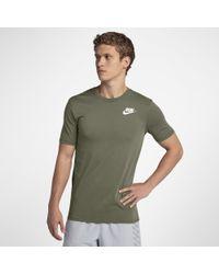 Nike Green Dri-fit Men's Running T-shirt for men