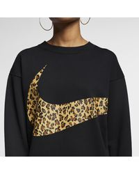 Nike Black Sportswear Animal Crew