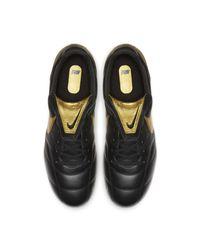Chaussure de footballà crampons pour terrain sec Premier II FG Nike pour homme en coloris Black