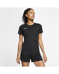 Nike Black Dri-fit Park 7 Football Shirt