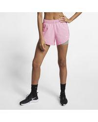 Nike Pink Flex 2-in-1 Training Shorts