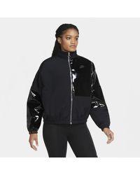 Nike Sportswear Icon Clash Synthetic-fill Jacket Black