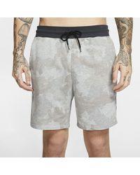 Nike Green Hurley Dri-fit Naturals Fleece Shorts for men