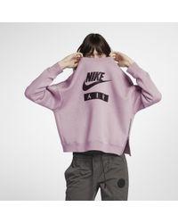 Nike Pink Sportswear Rally Women's Crew