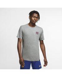 Nike FC Barcelona Fußball-T-Shirt für in Gray für Herren