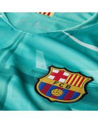 Maillot de football FC Barcelona 2019/20 Stadium Goalkeeper pour Nike pour homme en coloris Green