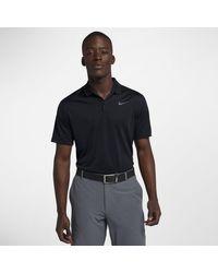Nike Dri-FIT Victory Herren-Golf-Poloshirt in Black für Herren